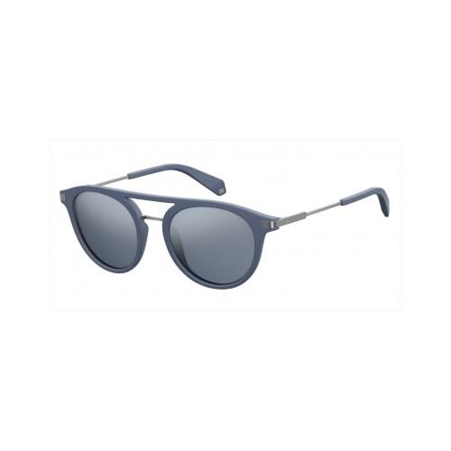 Polaroid Okulary przeciwsłoneczne męskie, damskie PLD 2061 FLL- szary, polaryzacja