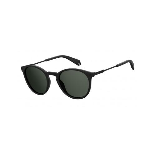Polaroid Okulary przeciwsłoneczne męskie, damskie PLD 2062 003 - czarny, polaryzacja