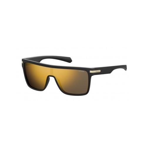 Polaroid Okulary przeciwsłoneczne męskie PLD 2064 I46 - czarny, polaryzacja