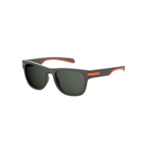 Polaroid Okulary przeciwsłoneczne męskie PLD 2065 RIW - szary, polaryzacja