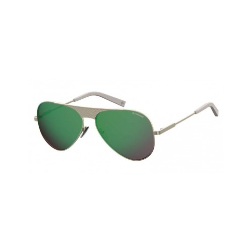 Polaroid Okulary przeciwsłoneczne męskie PLD 2067SX 3YG - złoty, polaryzacja