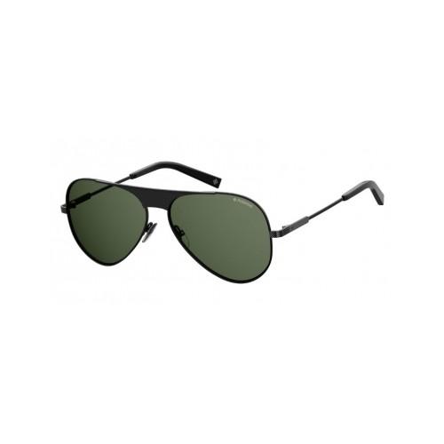 Polaroid Okulary przeciwsłoneczne męskie PLD 2067SX 807 - czarny, polaryzacja