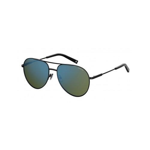 Polaroid Okulary przeciwsłoneczne męskie PLD 2069FSX 807 - czarny, polaryzacja