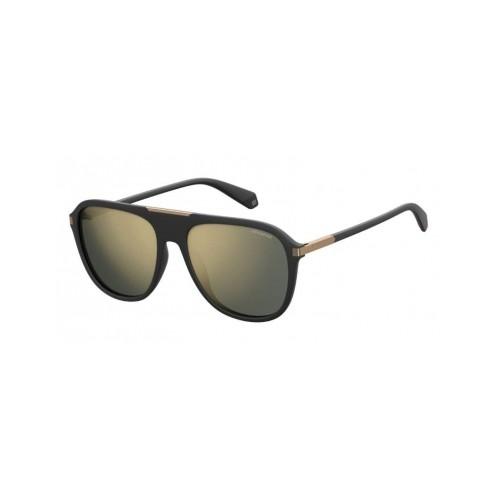 Okulary przeciwsłoneczne męskie PLD 2070SX 003 - czarny, złoty, polaryzacja