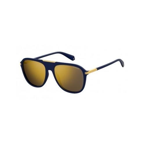 Okulary przeciwsłoneczne męskie PLD 2070SX PJP - czarny, złoty, polaryzacja