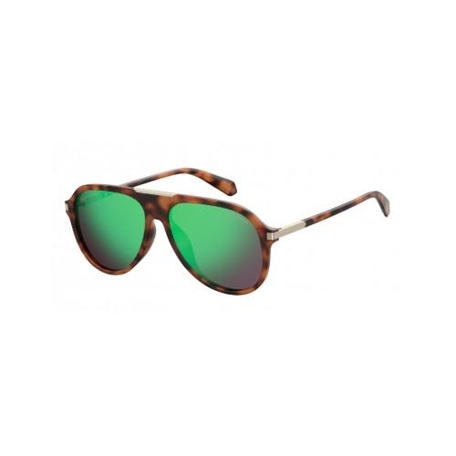 Polaroid Okulary przeciwsłoneczne męskie PLD 2071GSX 086 - szylkret, polaryzacja