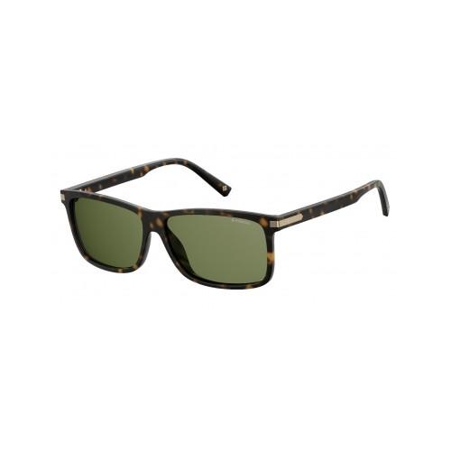 Polaroid Okulary przeciwsłoneczne męskie PLD 2075SX 086 - brązowy, polaryzacja