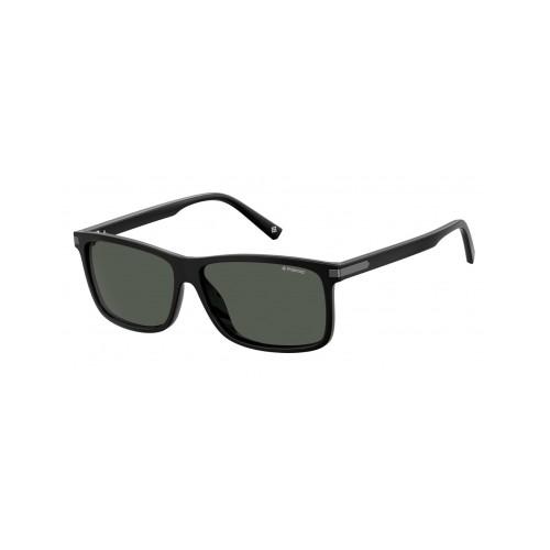 Polaroid Okulary przeciwsłoneczne męskie PLD 2075SX 807 - czarny, polaryzacja