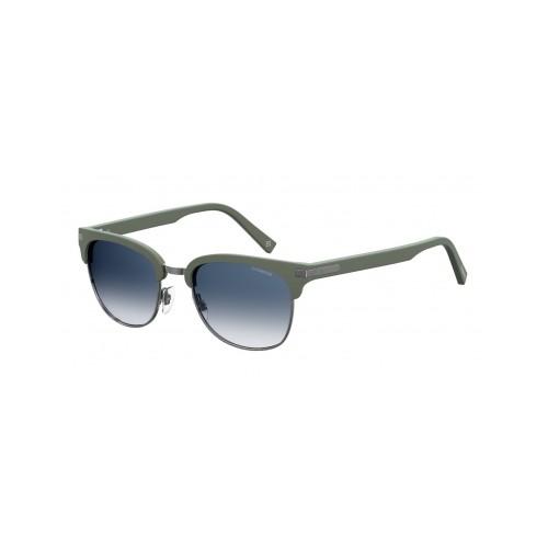 Polaroid Okulary przeciwsłoneczne męskie PLD 2076 - zielony, polaryzacja