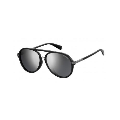 Polaroid Okulary przeciwsłoneczne męskie PLD 2077F 807 - czarny, polaryzacja