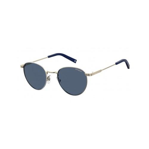 Polaroid Okulary przeciwsłoneczne męskie PLD 2082X - srebrny, polaryzacja