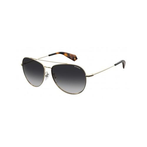 Polaroid Okulary przeciwsłoneczne męskie/damskie PLD 2083G J5G- złoty, polaryzacja