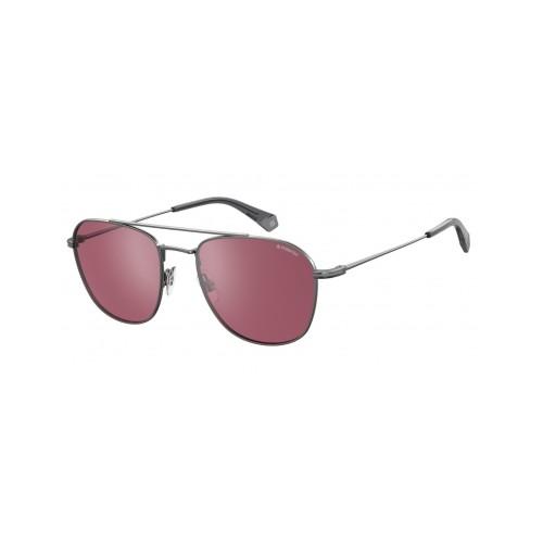 Polaroid Okulary przeciwsłoneczne męskie/damskie PLD 2084G 6LB- szary, polaryzacja