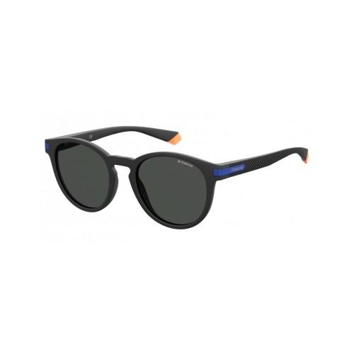 Polaroid Okulary przeciwsłoneczne męskie/damskie PLD 2087 0VK- czarny, polaryzacja