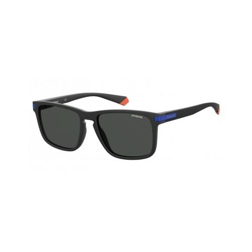 Polaroid Okulary przeciwsłoneczne męskie PLD 2088 0VK- czarny, polaryzacja