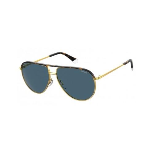 Polaroid Okulary przeciwsłoneczne męskie/damskie PLD 2089SX 31Z- złoty, polaryzacja