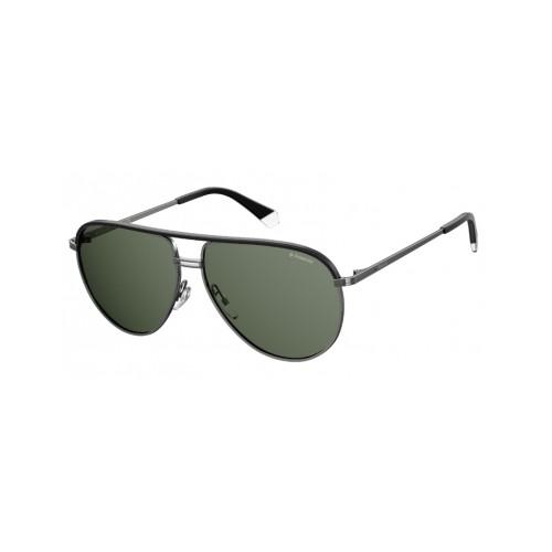 Polaroid Okulary przeciwsłoneczne męskie/damskie PLD 2089SX SMF- czarny, polaryzacja