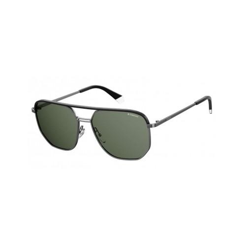 Polaroid Okulary przeciwsłoneczne męskie/damskie PLD 2090SX SMF- szary, polaryzacja