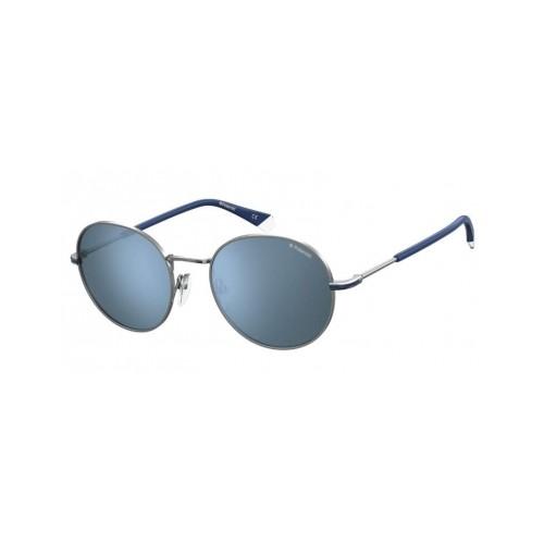 Polaroid Okulary przeciwsłoneczne męskie/damskie PLD 2093G 6LB - srebrny, polaryzacja