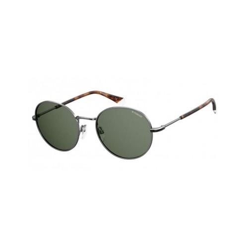 Polaroid Okulary przeciwsłoneczne męskie/damskie PLD 2093G KJ1 - srebrny, polaryzacja