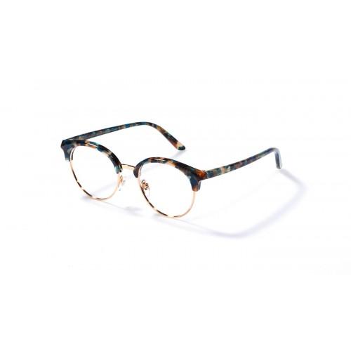 JPLUS Okulary korekcyjne damskie Andrea 2104-04 - złoty, szylkret