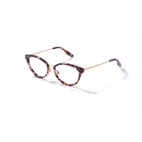 JPLUS Oprawa okularowa damska Mary 2110-06 - złoty, wielokolorowy
