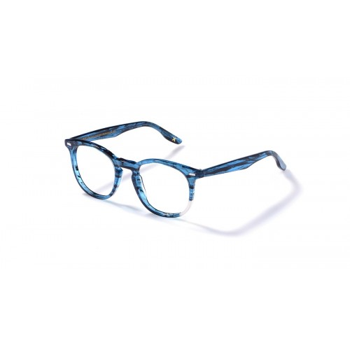 JPLUS Okulary korekcyjne damskie Nicolas 2108-05 - niebieski