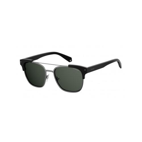 Polaroid Okulary przeciwsłoneczne męskie PLD 6039X 807 - czarny, szary, polaryzacja