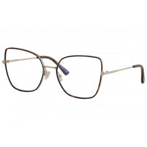 Tom Ford Okulary korekcyjne damskie TF5630-B 052 - złoty