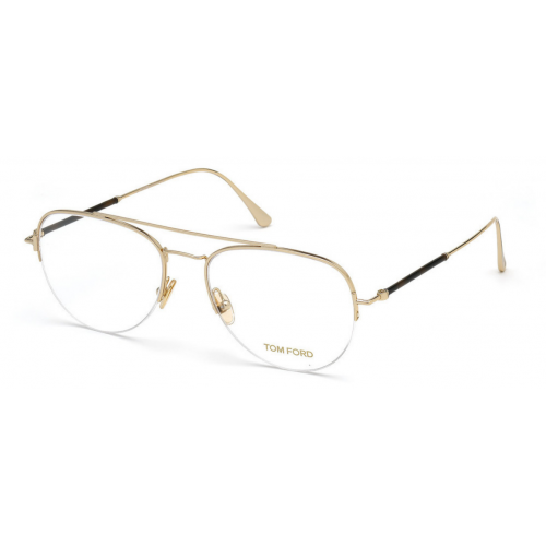 Tom Ford Oprawa okularowa damska, męska TF5656 028 - złoty
