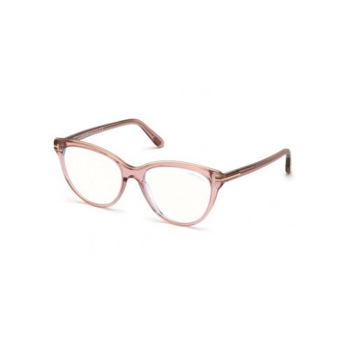 Tom Ford Okulary korekcyjne damskie FT5618-B 072 - różowy