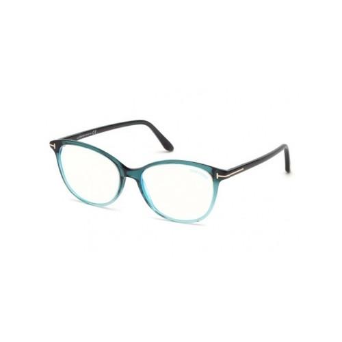 Tom Ford Oprawa okularowa damska FT5618-B 084 - niebieski