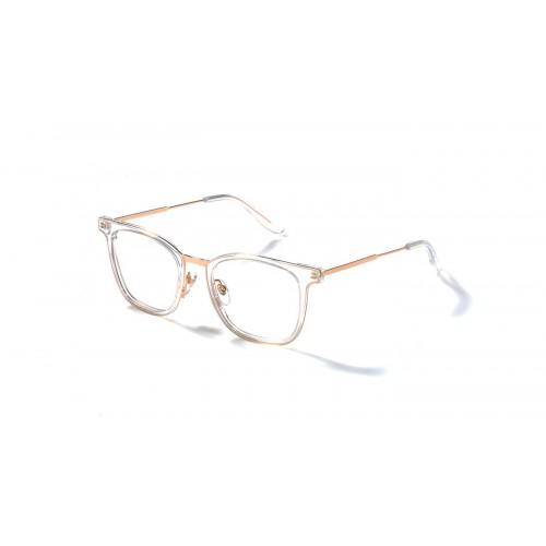 JPLUS Oprawa okularowa damska Mel 2111-03 - złoty, transparentny