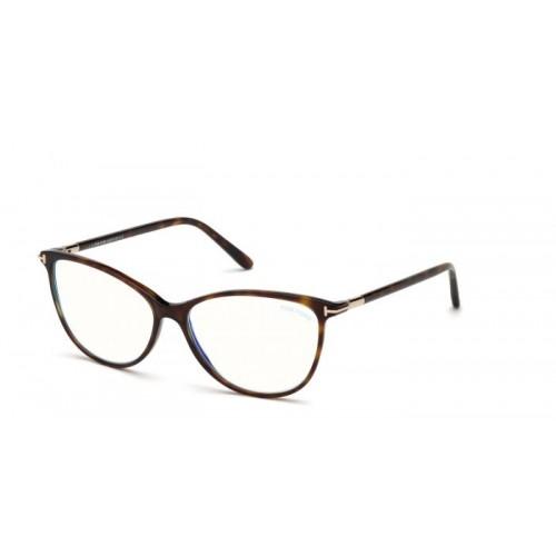 Tom Ford Okulary korekcyjne damskie FT5616-B 052 - brązowy