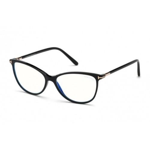 Tom Ford Oprawa okularowa damska FT5616-B 001 - czarny