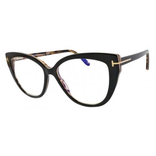 Tom Ford Oprawa okularowa damska FT5673 005 - czarny