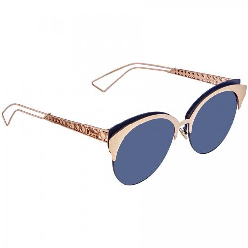 DIOR Okulary przeciwsłoneczne damskie Dioramaclub 2BN- złoty, filtr UV 400