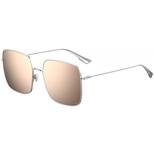 DIOR Okulary przeciwsłoneczne damskie DiorStellaire 1- srebrny, filtr UV 400