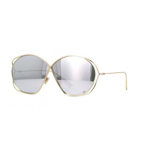 DIOR Okulary przeciwsłoneczne damskie DiorStellaire 2- złoty, filtr UV 400