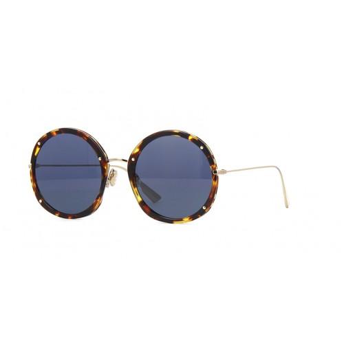 DIOR Okulary przeciwsłoneczne damskie Dior Hypnotic 1- brązowy, filtr UV 400
