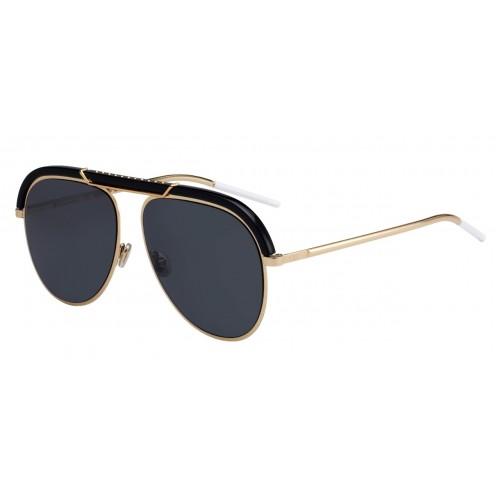 DIOR Okulary przeciwsłoneczne damskie/męskie Dior Desertic- złoty, filtr UV 400