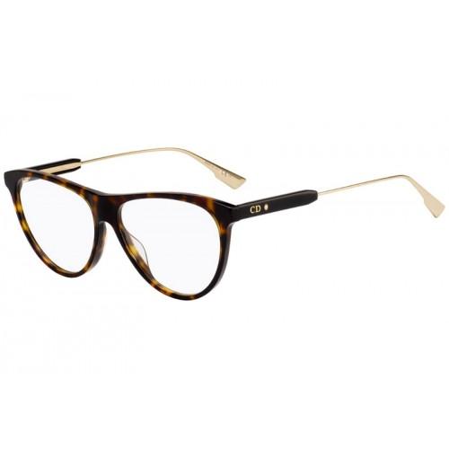 DIOR Oprawa okularowa damska MyDiorO3 - brązowy
