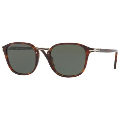 Persol Okulary przeciwsłoneczne męskie 3186-S 24/31 - brązowy