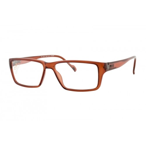 Stepper Okulary korekcyjne damskie SI-173 F3202 - pomarańczowy