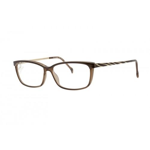 Stepper Okulary korekcyjne damskie SI-30028 F1301 - brązowy