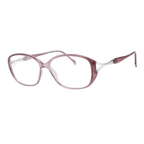 Stepper Okulary korekcyjne damskie SI-30005 F2302 - różowy