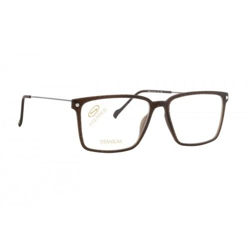 Stepper Okulary korekcyjne męskie SI-40002 F1104 - brązowy