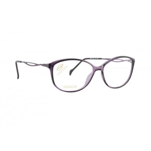 Stepper Okulary korekcyjne damskie SI-30143 F880 - fioletowy