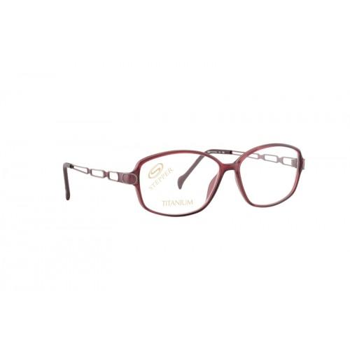 Stepper Okulary korekcyjne damskie SI-30145 F3301 - czerwony