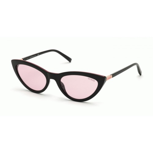 GUESS Okulary przeciwsłoneczne damskie GU3053 5501Z - złoty, czarny